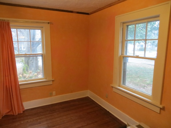 Pre reno peach colored office