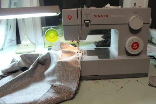 Sewing boxing for a seat cushion