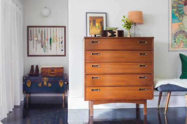 Vintage modern bedroom makeover