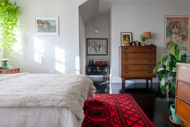 Layered bedroom makeover