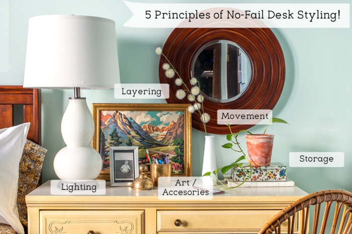 Principles of No-Fail Desk Styling